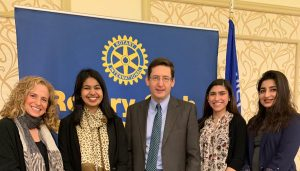 Madison Rotary Club, March 2019
